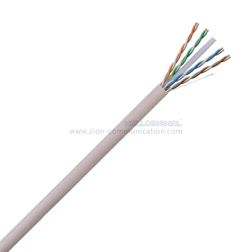 U/UTP CAT 6 Unshielded Twisted 4 Pairs patch cord