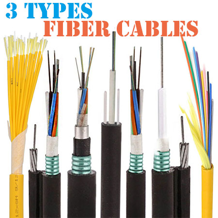 3 most important types of fiber cables