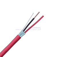 16AWG 2C SOL Shielded FPLR Fire Alarm Cables