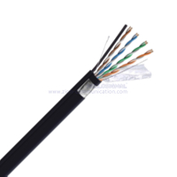 F/UTP CAT 5E BC LSZH M Twisted Pair Steel Messenger Cable