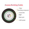 Fibra óptica Glass Yarn PSP Armor cable LSZH jacket Access Building Cable