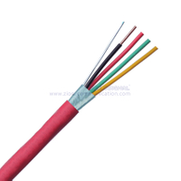 14AWG 4/C SOL Shielded FPL-CL2 Fire Alarm Cables