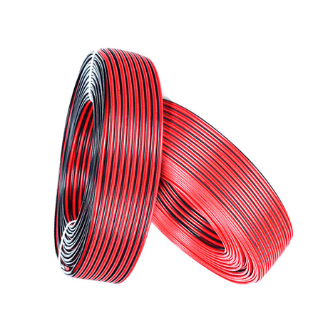Flexible LOUD SPEAKER CABLE # 14 16 18 20 22 Black&Red pvc power cable, conductor copper or CCS