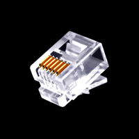 Cat3 6P6C RJ11 connector